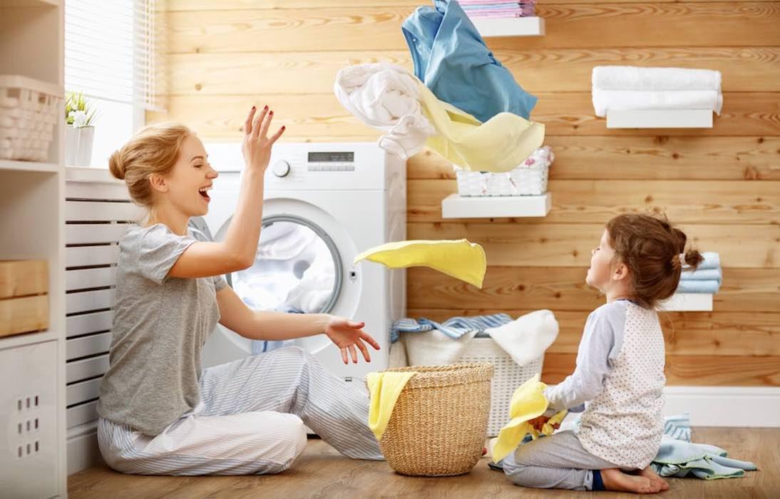 stappen als je voor het eerst babykleertjes gaat wassen