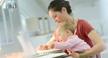 stoppen met werken na de bevalling financieel