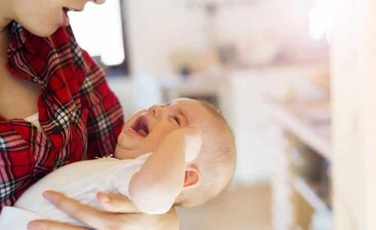 stress bij de baby