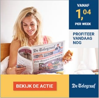 Telegraaf banner
