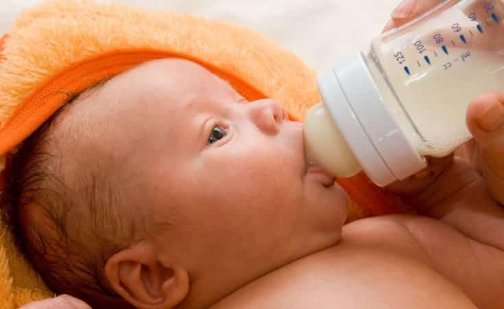 tips als baby niet wil drinken