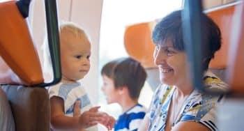 tips baby in het openbaar vervoer reizen