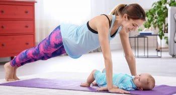 tips back in shape na de bevalling