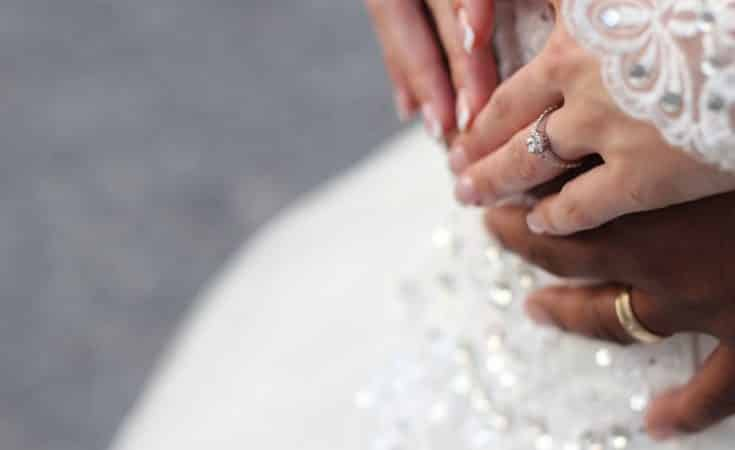 tips bij kiezen bruidsjurk als je zwanger bent
