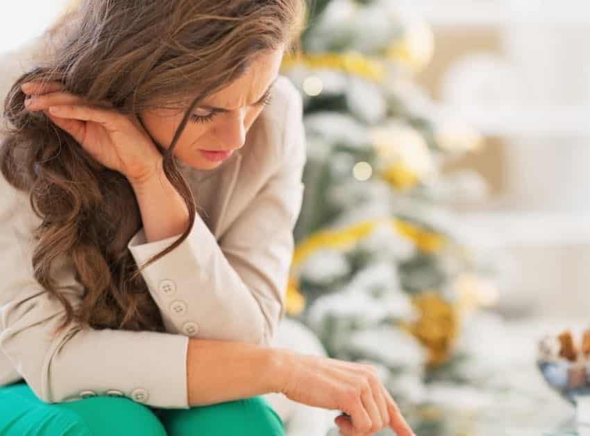 tips bij sombere gevoelens feestdagen
