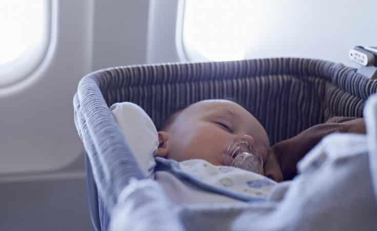 tips naar Amerika reist met een baby