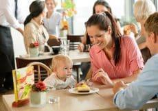 tips uit eten met kleine kinderen