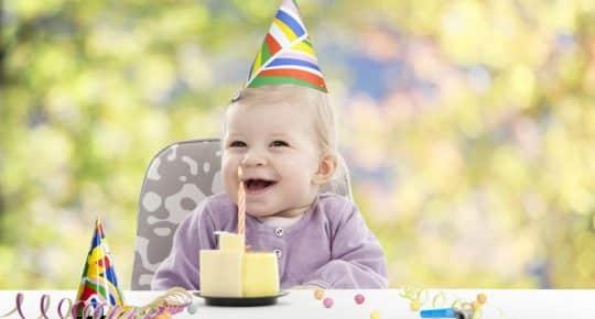 tips voor eerste verjaardag baby