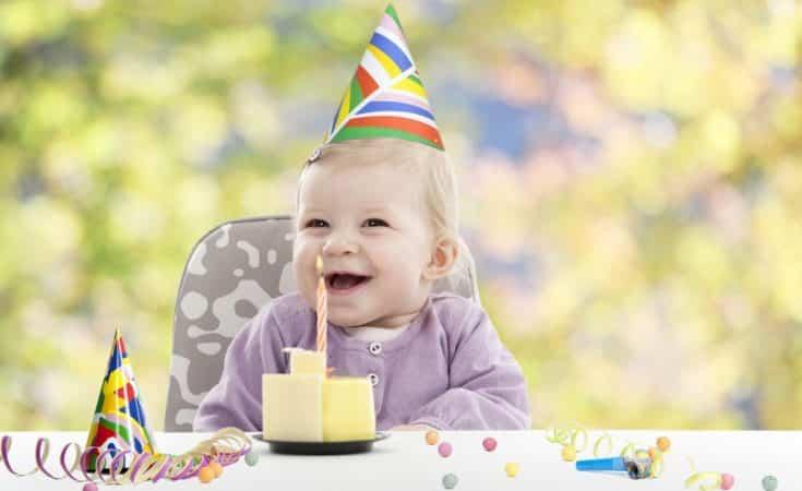 Spiksplinternieuw Tips voor de eerste verjaardag van de baby! ▷ Zo wordt het een LF-01