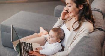 tips werken vanuit huis met baby of peuter