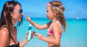 tips zonnebrand smeren kinderen