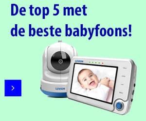 top 5 beste babyfoons banner