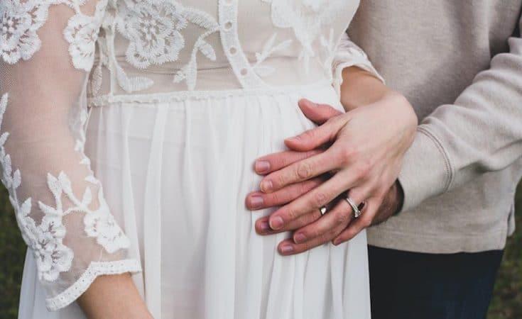 trouwen als je zwanger bent