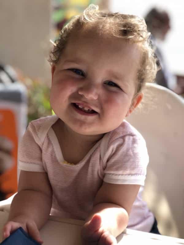 uiteten met baby op vakantie