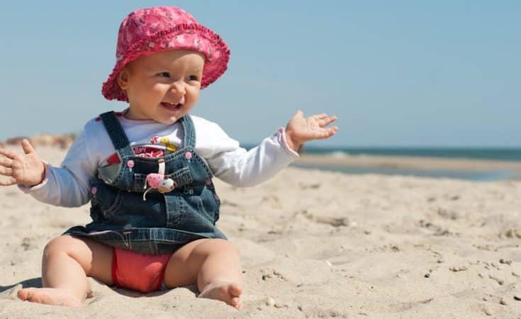 vakantiekwaaltjes bij een baby
