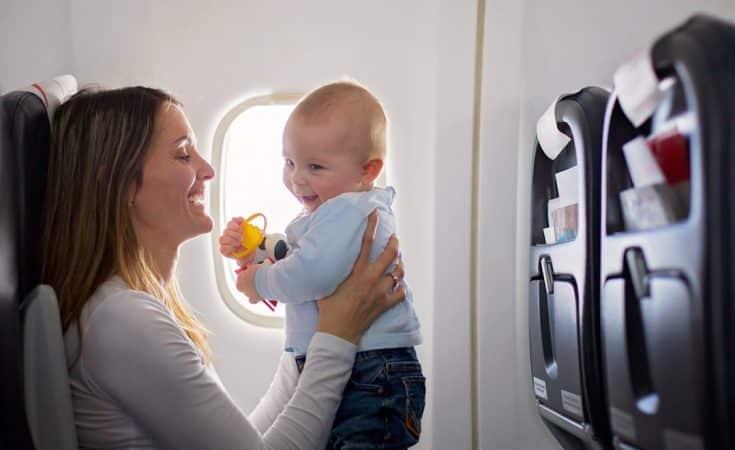 vanaf welke leeftijd vliegen met een baby