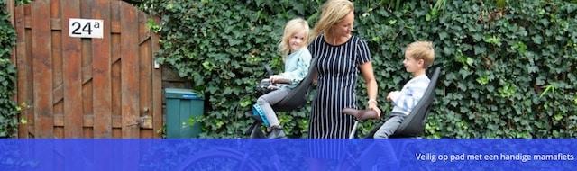 veilig fietsen met baby op een mamafiets