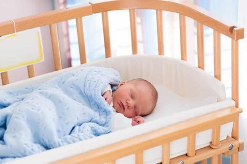 veilig slapen van je baby