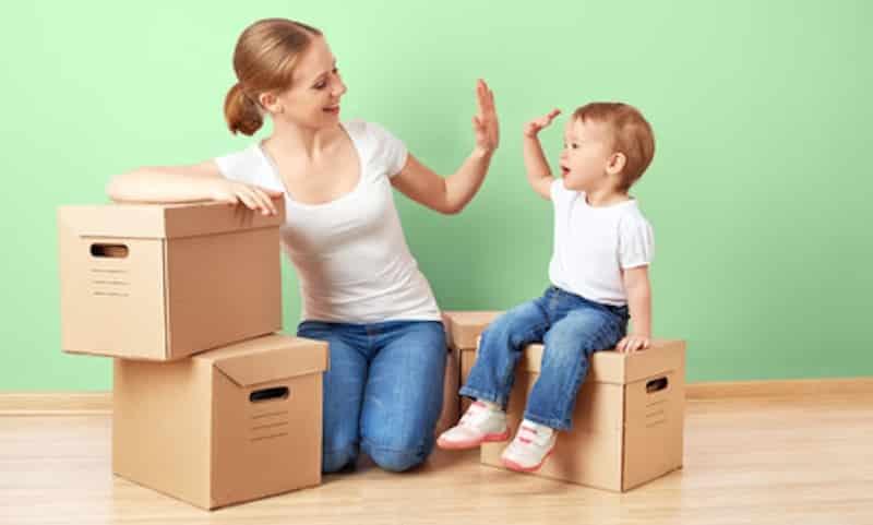 verhuizen als je zwanger bent
