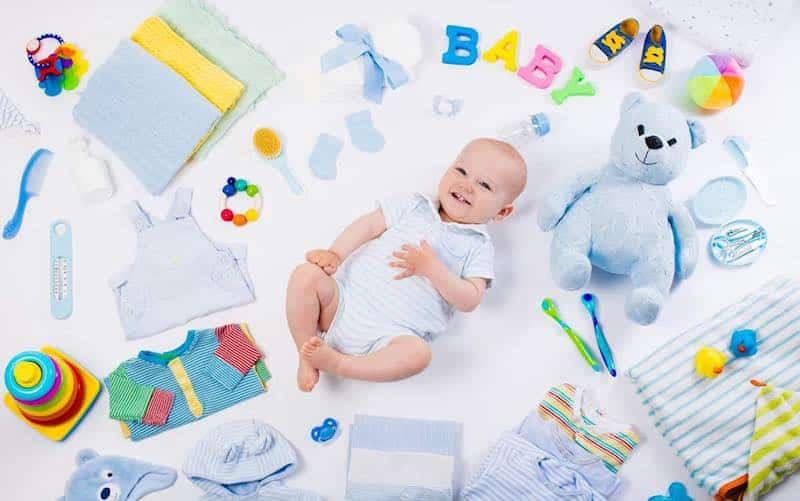 voorbereiden in huis hebben voor de baby
