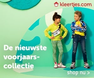 Kleertjes.com voorjaar banner
