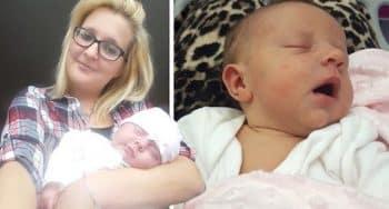 vrouw met kater bevalt van baby zonder weten zwanger is