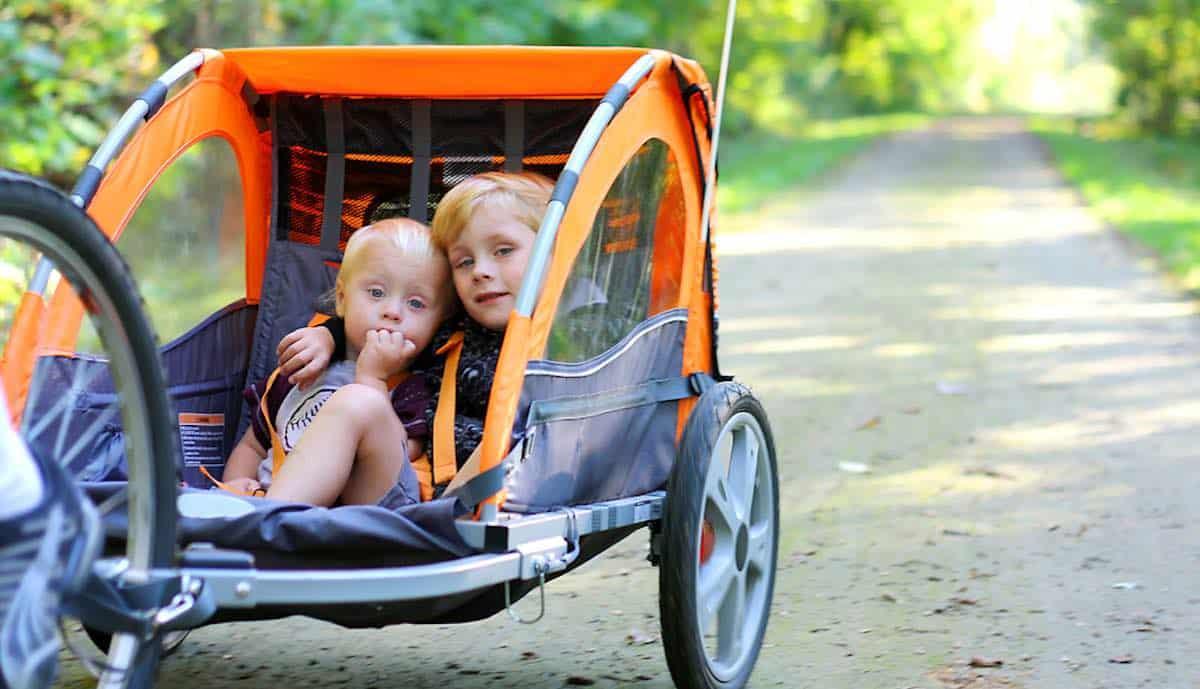 waar moet goede fietskar kind aan voldoen