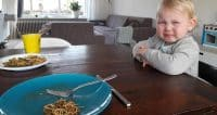 wat eet peuter yinthe op een dag