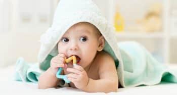 wat kan een baby 4 maanden oud