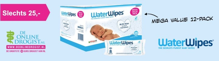 water wipes banner
