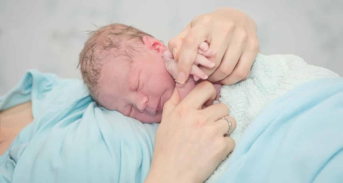 weeen herkennen bevalling begint