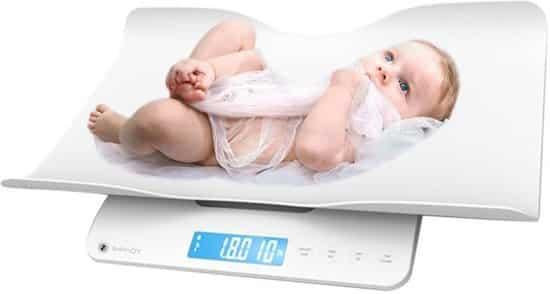 weegschaal voor baby en peuter