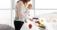 weinig tijd om te koken met kinderen