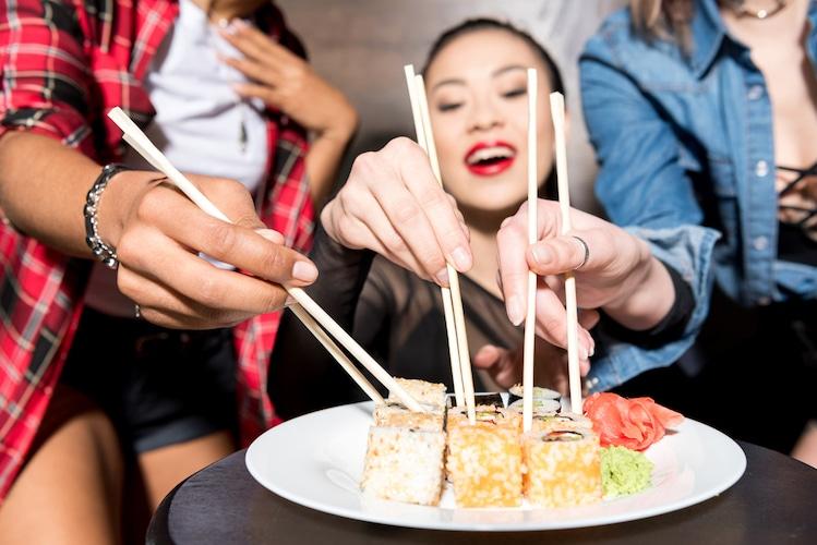 welke sushi kan je beter niet eten als je zwanger bent