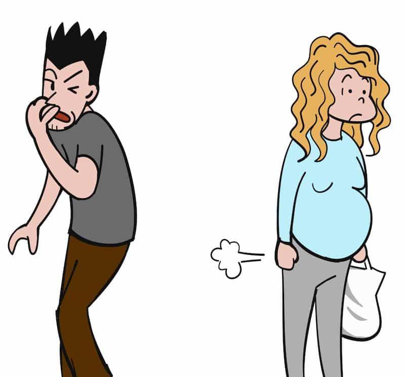 winderigheid zwanger