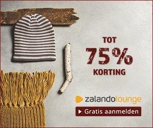 Zalando 1 75p korting banner