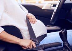 zwanger autorijden verzekering