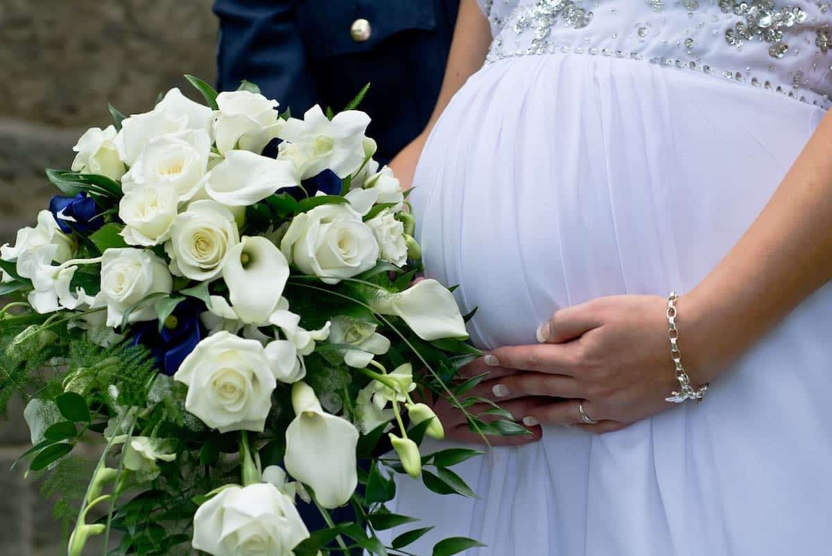 zwanger en trouwen