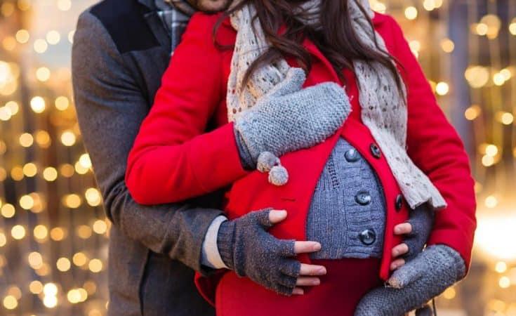 zwanger gewichtstoename tijdens de feestdagen beperken
