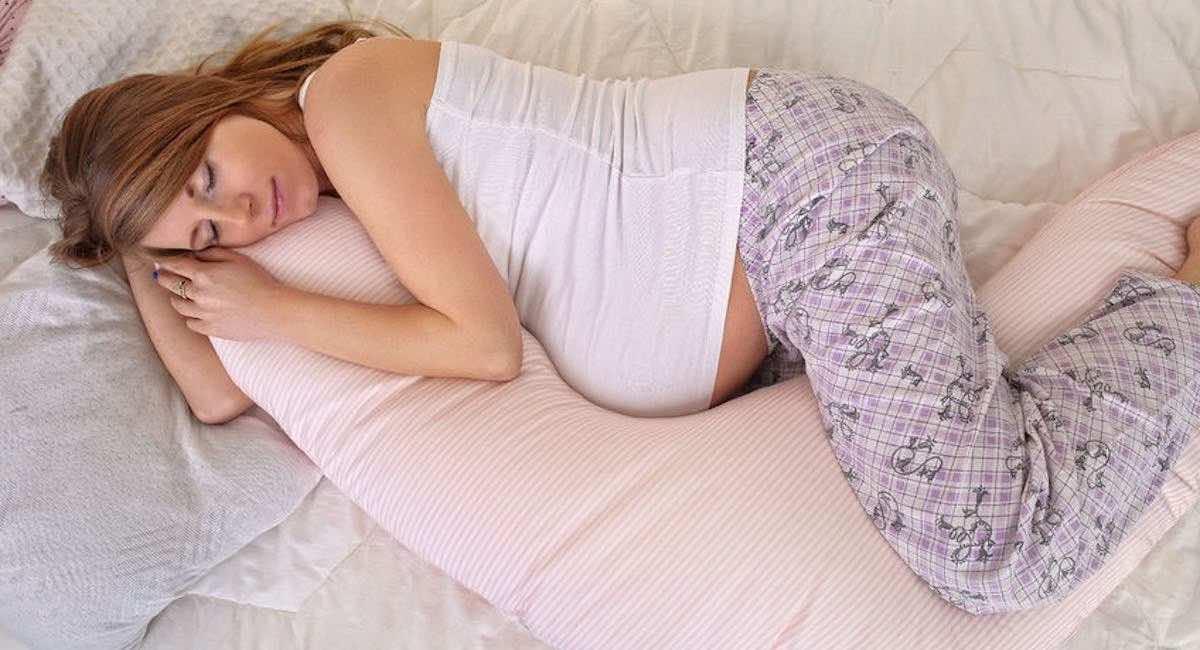zwangerschapskussen slapen zwanger